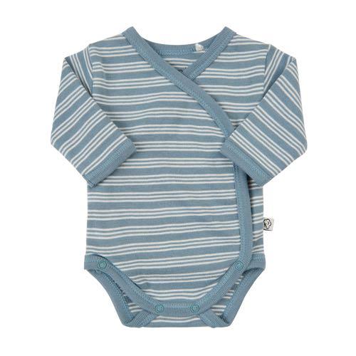 dc5ea0c2742 Pippi Body Wrap Premature Blue With White Stripes Lilla Violen Jonkoping