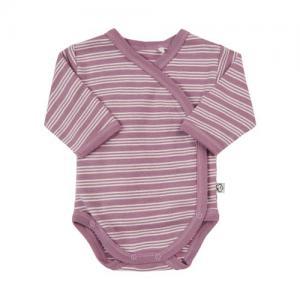 Pippi Body Wrap Premature Purple With White Stripes