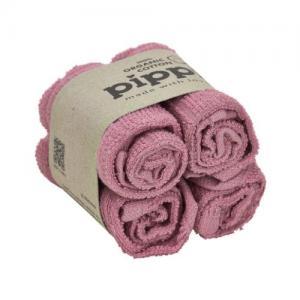 Pippi Mini Handduk 4 St Old Rose