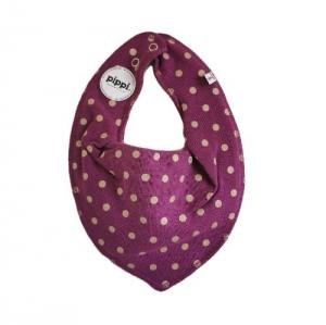 Pippi Scarf / Fabric Bib - 226 Frosted Pearl