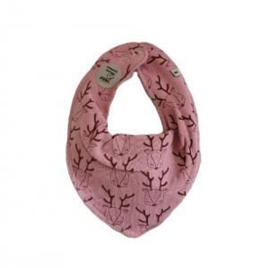 Pippi Scarf / Fabric Bib - 372 Pink