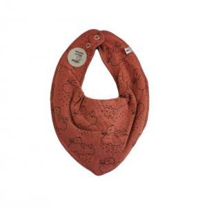 Pippi Scarf / Fabric Bib - 452 Redwood