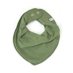 Pippi Scarf Enfärgad Haklapp i Tyg - 995 Dry Green