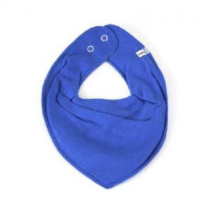 Pippi Scarf Enfärgad Haklapp i Tyg - 723 Blue