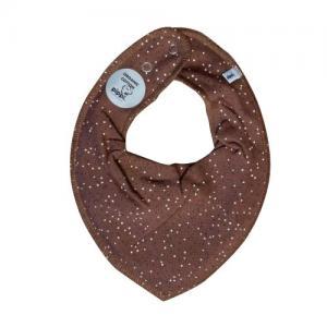Pippi Scarf / Fabric Bib - 204 Brown