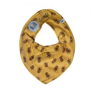 Pippi Scarf / Fabric Bib - 204 Mustard Yellow