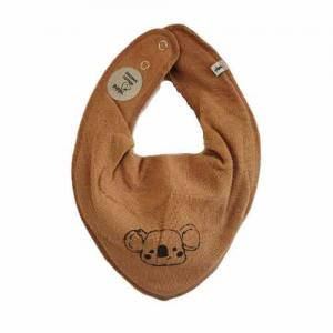Pippi Scarf / Fabric Bib - 264 Light brown Koala