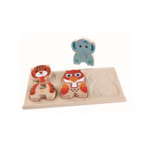 Plan Toys Djurpussel Ekologiskt