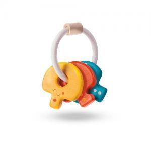 Plan Toys Baby Nycklar i trä Ekologisk