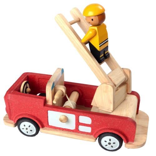 Plan Toys Brandbil Stor