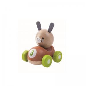 Plan Toys Kanin i Bil Ekologisk
