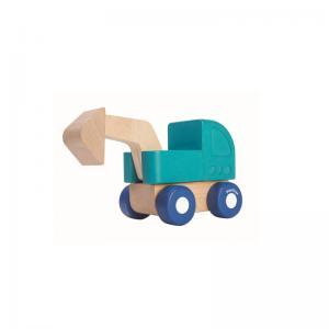 Plan Toys Mini Grävmaskin / Mini Excavator Ekologisk