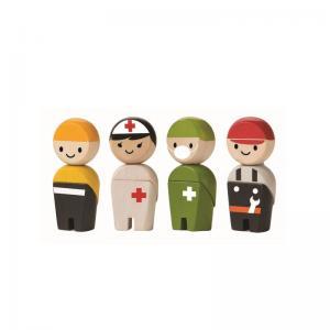 Plan Toys Räddnings Personal Ekologisk Rescue Crew