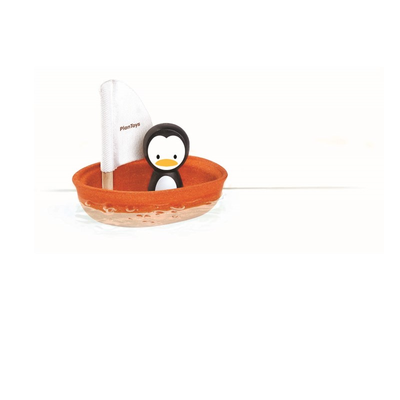 Plan Toys Seglingsbåt Pingvin Ekologisk