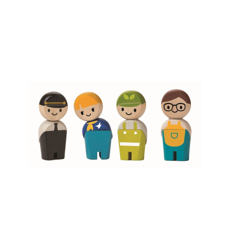 Plan Toys Service Personal Service Crew Ekologisk