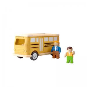 Plan Toys Skolbuss Ekologisk