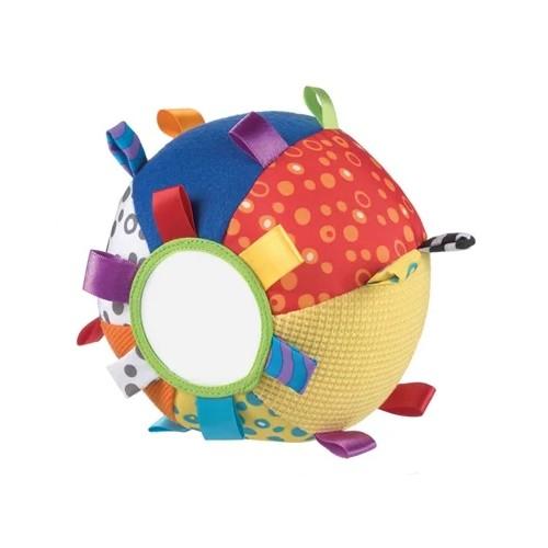 Playgro Mjuk boll med spegel och pill lappar