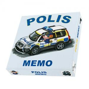 Police Memory Game 40 Game Cards
