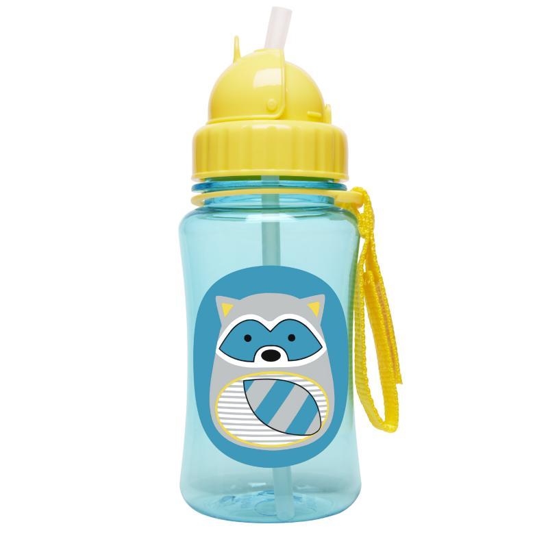 Skip Hop Bottle of Straw Zoo Raccoon