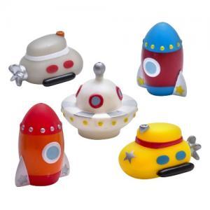 Rätt Start Bath Toy Space Invaders 5 pcs