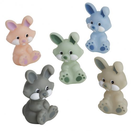 Rätt Start Badleksak Kaniner i Pastell 5 st