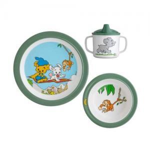 Rätt Start Bamse Jungle Children's Plate Set
