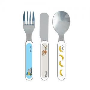 Rätt Start Children's Cutlery Bamse Jungle