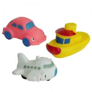 Rätt Start Bath Toys Car Boat Ariplane 3 pcs