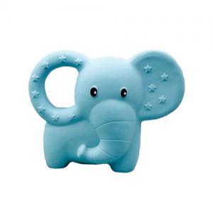 Rätt Start Bitleksak Naturgummi Elefant Blå