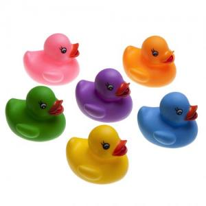 Rätt Start Bath Toys Design Ducks Smal 6 pcs