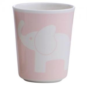 Rätt Start Melamine Glass Elephant Pink