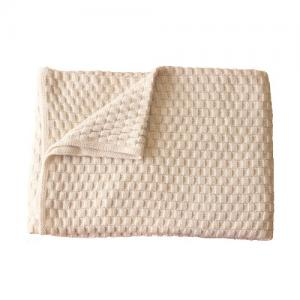 Right Start Tax Blanket Organic Cotton White