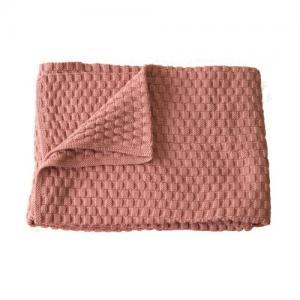 Right Start Tax Blanket Organic Cotton Pink