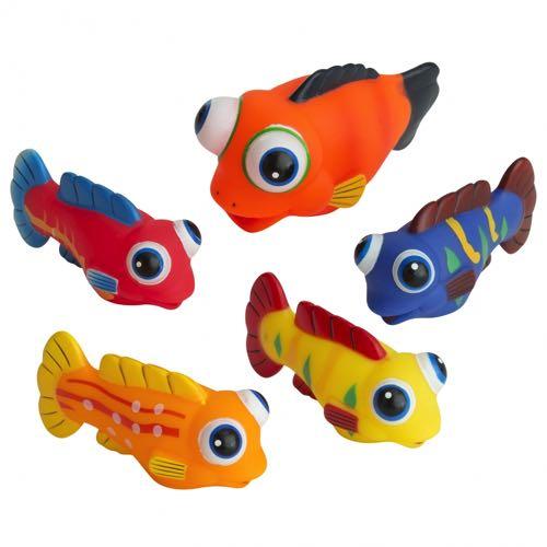 Rätt Start Badleksaker Fiskstim 5 st