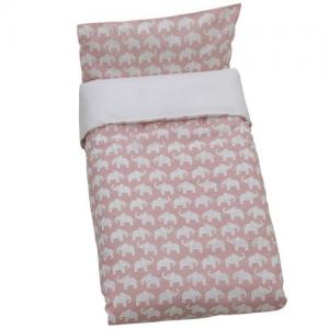 Rätt Start Duvet Set For Crib Dirty Pink ECO