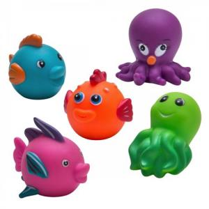 Rätt Start Bath Toy Sea Animals 5 pcs