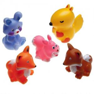 Rätt Start Bath Toy Forest Animals 5 pcs