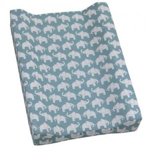Rätt Start Changing Mat Elephant Menthol Blue ECO