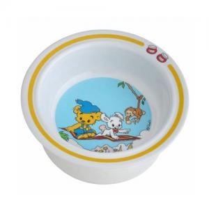 Rätt Start Deep Plate with Cuction Cup Bamse Yellow