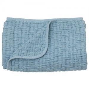 Rätt Start Waffle Blanket Blue
