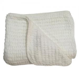 Rätt Start Waffle Blanket White