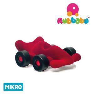 Rubbabu Naturlig Skumgummi Micro Fordon Bil Racer Röd