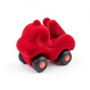 Rubbabu Naturlig Skumgummi Micro Fordon Brandbil Röd