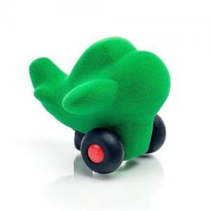 Rubbabu Naturlig Skumgummi Micro Fordon Flygplan Grön