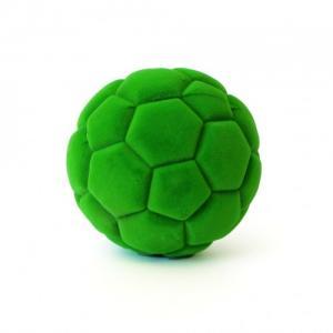 Rubbabu Naturlig Skumgummi Sportboll Grön