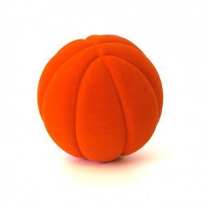 Rubbabu Naturlig Skumgummi Sportboll Orange