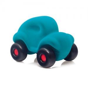 Rubbabu Natural Foam Rubber Big Car Turquoise