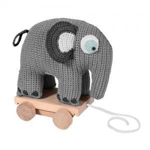 Sebra Dragdjur Elefant Virkad 1+ år