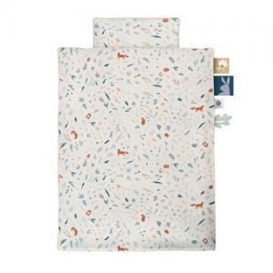 Sebra Duvet Cover Set for Crib 130 x 100 Daydream GOTS