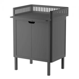 Sebra Changing Unit with Doors Classic Grey